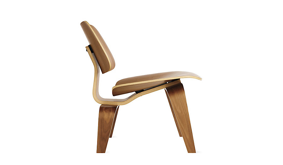 Eames Molded Plywood Lounge Chair LCW Palisander HERMAN MILLER Modern DWR