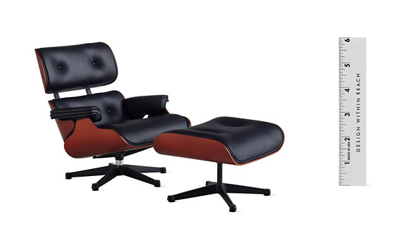 Vitra Miniatures Collection: Eames® Lounge and Ottoman