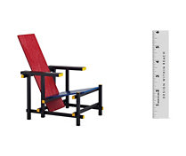 Vitra Miniatures Collection: Rietveld Chair