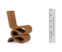 Vitra Miniatures Collection: Gehry Wiggle Side Chair