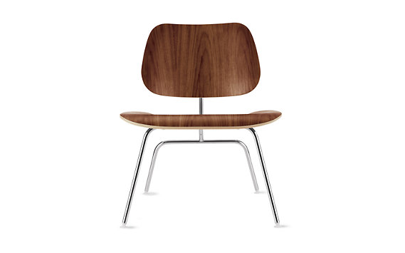 Eames Molded Plywood Lounge Chair, LCM
