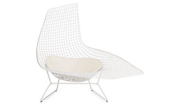 bertoia asymmetric chaise chaises daybeds living outdoor categories design within. Black Bedroom Furniture Sets. Home Design Ideas