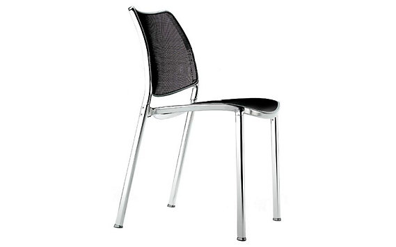 Gas Side Chair - Mesh/Leather