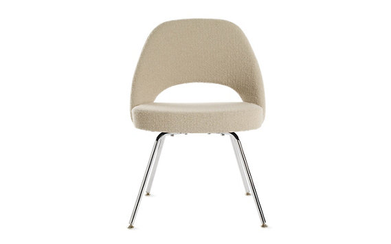Saarinen Executive Chair Metal - Boucle