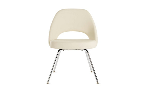 Saarinen Executive Chair Metal - Volo Leather