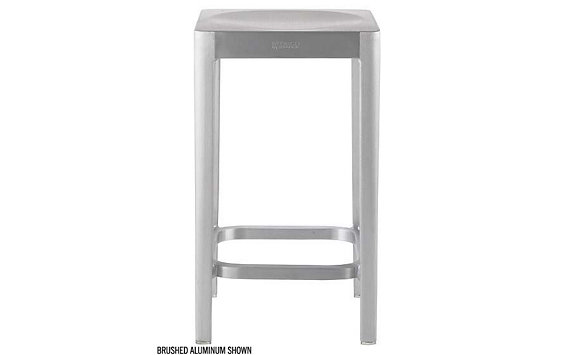 Emeco Counter Stool - Polished