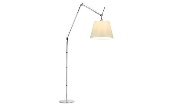 "Tolomeo Mega Floor Lamp with 17"" Parchment Shade"