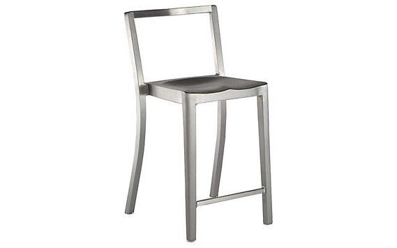 Icon Counter Stool - Brushed