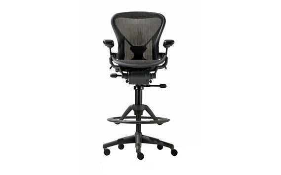 Aeron® Work Stool with PostureFit®