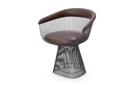 Platner Armchair - Leather