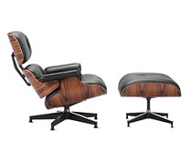 Eames® Lounge and Ottoman, Additional Options | <font color=red>Quick Ship</font>