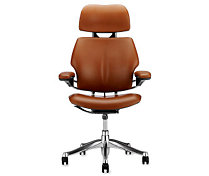 Freedom® Task Chair with Headrest in Prima Leather