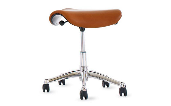Freedom® Saddle Seat in Prima Leather