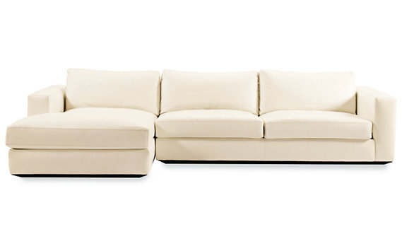 Reid Sectional Chaise Left in Fabric