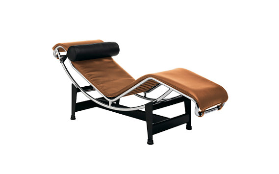 Lc4 chaise lounge colors cream design within reach for Chaise design coloree