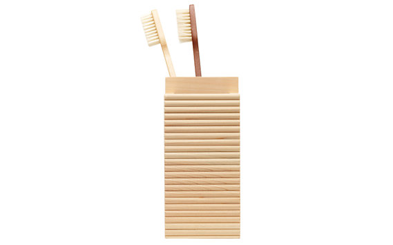 Hinoki Toothbrush Holder