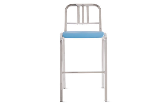 Nine-0 Stacking Barstool - 3 Bar Back
