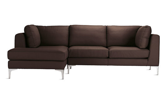 Albert Sectional Chaise Left in Vienna Leather