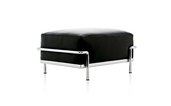LC2 Petit Modele Ottoman – Chrome Frame/Color Leather
