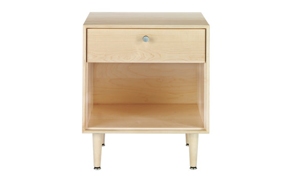 American Modern Side Table in Maple
