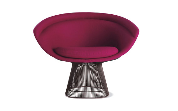 Platner Lounge Chair - Boucle