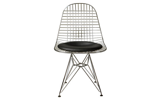 dining collections eames eames wire chair with seat pad dkr 5