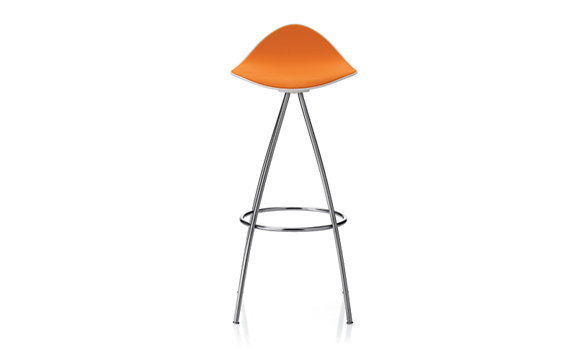 Onda Barstool with Chrome Frame