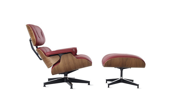 Eames® Lounge and Ottoman | <font color=red>Custom Options</font>