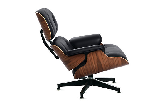 Eames® Lounge Chair - Walnut Frame