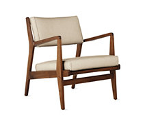 Jens Chair, Maharam Milestone, Walnut