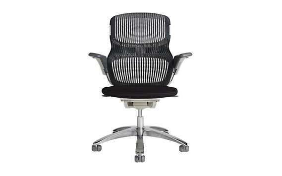 Generation Chair - Polished Aluminum Base