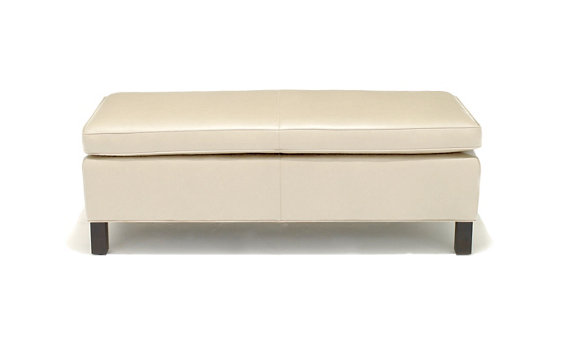 Krefeld Bench, Medium in Volo Leather
