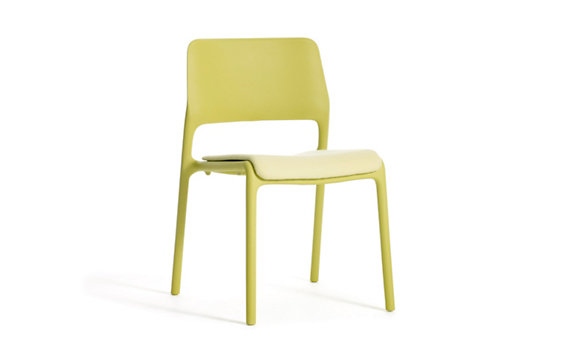Spark Side Chair with Seat Pad
