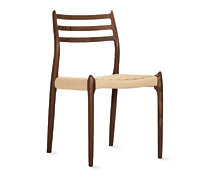 Møller Model 78 Side Chair with Natural Woven Seat