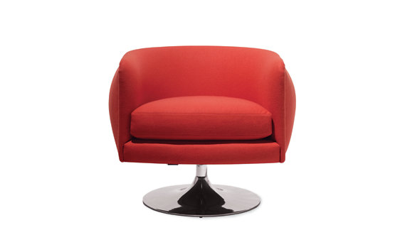 D%27Urso Swivel Lounge