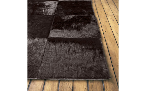 Patch Cowhide Rug - 8x10
