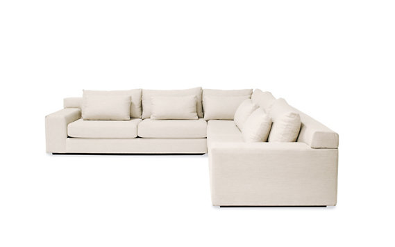 Simpatico Corner Sectional, Fabric