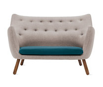 Poet Sofa - Fabric A