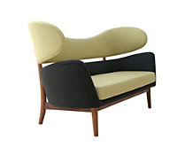 Baker Sofa in Fabric A