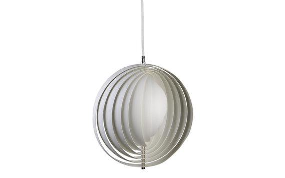 Moon Pendant - White
