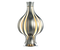 Onion Table Lamp in White