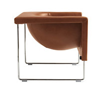 Nube Armchair in Leather