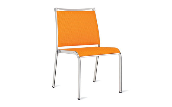 Lucca Dining Side Chair in Triple-Twist Weave