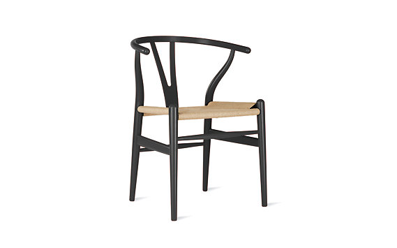 Wishbone Chair, Beech and Color Lacquer