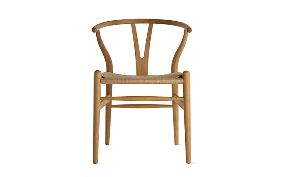 Wishbone Chair in Natural Wood