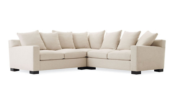 Muse Corner Sectional in Fabric C