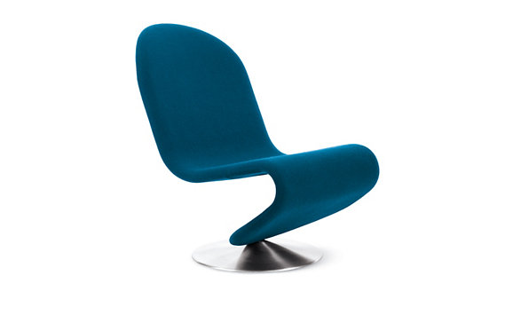System 1-2-3 Lounge Chair in Fabric A