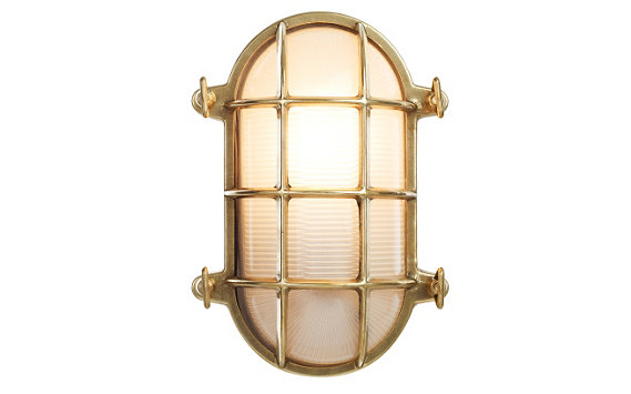Oval Bulkhead Light, Large