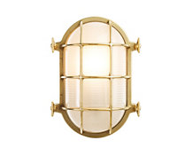 Oval Bulkhead Light, Medium