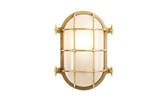 Oval Bulkhead Light, Medium - Design Within Reach